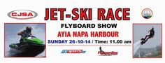 Thrilling action in the #JetSki and #Flyboard show at #AyiaNapa harbour this Sunday, 26/10... Should be entertaining viewing! The show starts at 11:00. Shared by Nikki at www.pissouribay.com.
