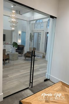 The perfect striking style that offers you safety and comfort Glass Partition, Glass Installation, Glass Office, Shower Doors, Glass Office Partitions, Palm Beach Florida, Partition Door, Glass Top Table, Frameless Shower Doors