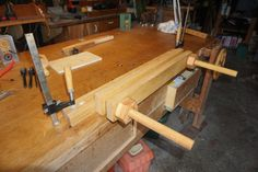 Home made Moxon type vise - Woodworking creation by Madts