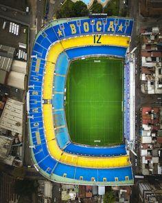 La Bombonera Boca Juniors el mas Grande de Argentina.