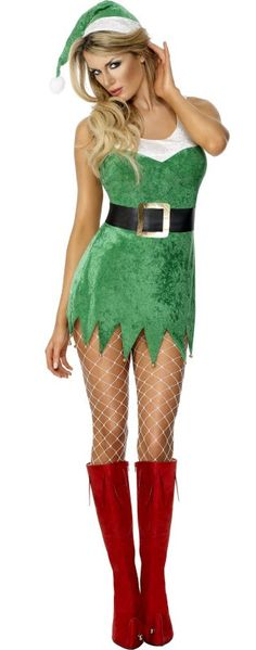 Santa's Sexy Little Helper Costume - £19.95