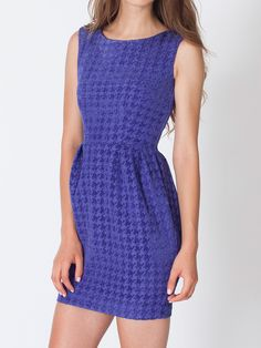 American Apparel - Houndstooth Cocktail Dress