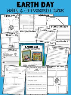 Earth Day Writing & Comprehension Guides