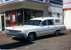 1963 Olds Oldsmobile ambulance