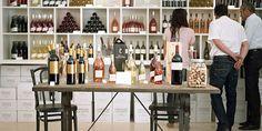 Daniel's European Food, Wine & History Tours Chateau La Coste Wine Display -  Image Courtesy Chateau La Coste