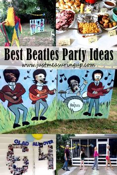 Best DIY Beatles Party Ideas