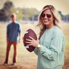 football with him :)
