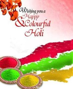 Download Colourful holi image with wishes - Holi wallpapers and image for your mobile cell phone