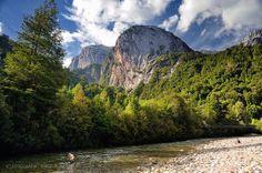 Domos del Rio Cochamo  - Valle de Cochamo (Patagonia - Chile)