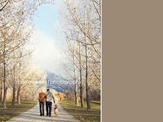 Salt Lake City Utah couple and dog photographer couple walking away with their dog What Kind Of Dog, Couples Walking, Salt Lake City Utah, Utah Photographers, Past, Country Roads, Dogs, Photography, Past Tense