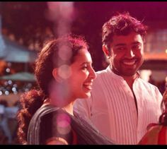 Nivin and wife rinna..!!the way he looks at her!! Adorable couple..!!!