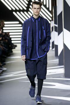 Sfilata Y-3 Milano Moda Uomo Autunno Inverno 2014-15 - Vogue