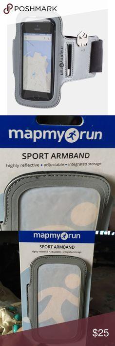 Nwt: sports arm band Map my run sports arm band Map my run Jewelry Bracelets