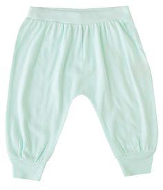 "Finn + Emma ""Blue Glass"" Organic Bubble Pants"