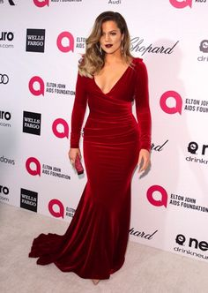 2939bf5ad488 Khloe Kardashian - Jessica Rabbit Inspired Look Oscars Party