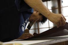 職人、江戸小紋、染職人/Japanese craftsman