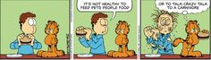 Garfield's Love For Food In Comic Strips (PHOTOS)