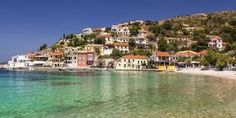 Assos is considered one of the most picturesque seaside villages of Kefalonia and is famous for its Venetian castle. Seaside Village, Greece Travel, Greek Islands, B & B, Luxury Travel, Beautiful Places, Places To Visit, Castle, Vogue