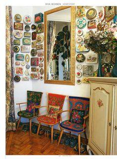 Diva Wohnen - Homestory upcycled vintage biscuit tin decoration from www.ilovetoopshop.com.au