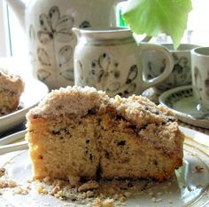 Coffee Cake Recipe - used the topping portion of the recipe with a yellow cake mix and filled with applesauce - 2015 Lithuania Food, Lithuania Travel, Lithuanian Recipes, Around The World Food, European Cuisine, Polish Recipes, Le Chef, Bakery Recipes, Coffee Cake