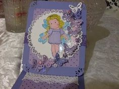 easel butterfly card