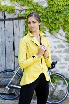 Hello Yellow Commuter Jacket | AnaNichoola
