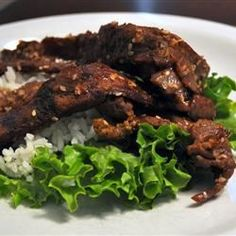 Beef Bulgogi ! One of my favs and must try. I always let my meat marinate overnight for the best flavor. YUM!