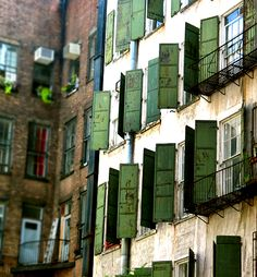 Soho district in New York