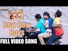 Movie Name : Kittu Unnadu Jagratha Song: Bow Bow Boys Music: Anup Rubens Singer: Sai Charan Lyrics: Ramajogaiah Sastry Director : Vamsi Krishna Banner : A. Boy Music, Bow Bow, Cover Songs, Download Video, Telugu Movies, Album Covers, Lyrics, Bows, Singer