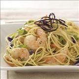 Shrimp 'n' Noodle Bowls Recipe