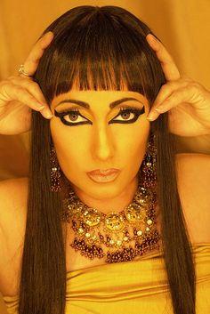Ancient Egypt Makeup And Hair - Ancient Egyptian Makeup, Egyptian Costume, Egyptian Party, Egypt Makeup, Reindeer Makeup, Chinese Makeup, Professional Makeup Case, Eyeliner, Makeup Training