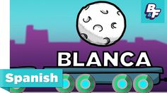 Learn colors in Spanish with BASHO & FRIENDS - Colores en español                .