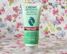 Resenha: Creme Esfoliante de Limpeza para os Pés - Flores & Vegetais