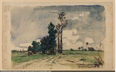 Johan Barthold Jongkind - Landscape