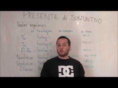 """""""Presente de Subjuntivo (verbos regulares)"""" spanishfspain"""