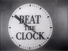 A     GAME     SHOW.  The original show, hosted by Bud Collyer, ran on CBS from 1950 to 1958 and ABC from 1958 to 1961