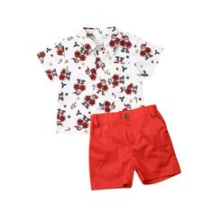 This unique Nolan Christmas Set will surely make your little one standout. Fashion Kids, Pants Outfit, Outfit Sets, Short Outfits, Summer Outfits, Summer Clothes, Baby Boy Christmas Outfit, Kids Christmas, Merry Christmas