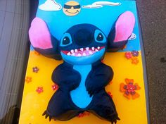 Lilo & Stitch Sculpted Cake by Cake Me Happy!,