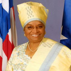 Ellen Johnson Sirleaf - First Female President of Liberia - she and the women of her country have done TREMENDOUS things. We can all learn...