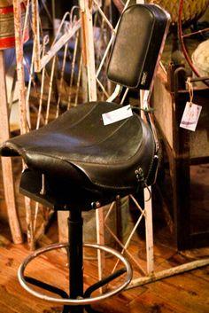 Biker Motorcycle Style Seat Pneumatic Bar Stool Shop