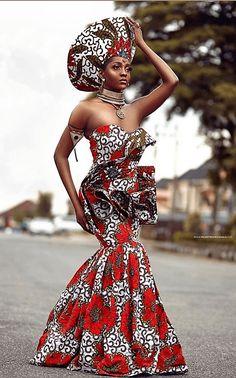 African Prom Dresses, African Wedding Dress, African Dresses For Women, African Attire, Ankara Gowns, African Fashion Ankara, Latest African Fashion Dresses, African Print Fashion, African Prints
