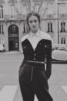 Enjoying this deconstructed Guy Laroche jacket... Ruben Jacob Fees Fashion Editorial Paris | Interview