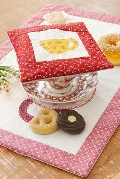 Abafador de chá de patchwork
