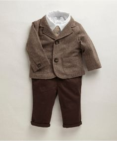 Boys Welcome To The World 5 Piece Jacket Set - So cute!