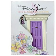 This little fairy door just attaches low on your wall, a high shelf or a special place for the night fairies to comen and visit. You can leave glitter and little presents from the fairies for your littlies. The doors are handmade and painted and absolutely gorgeous!