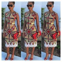 Hey Lovely ladies, Its late Friday but we've decided to share some lovely and unique ankara styles with you because why not. As an African women or lady African Print Dresses, African Dresses For Women, African Wear, African Attire, African Women, African Prints, African Style, African Inspired Fashion, African Print Fashion