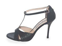 Mariposa Black Allure Leather