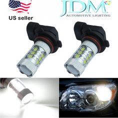 JDM ASTAR Extremely Bright High Power 9006 HB4 White Car DRL Fog Light LED Bulbs #JDMASTAR