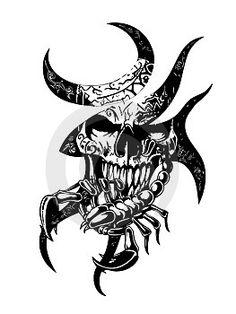 43 Best Scorpion Head Tattoo Images Head Tattoos Scorpio Scorpio