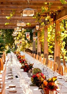 Gorgeous wedding outdoors